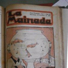 Libri antichi: LA MAINADA. ANY 1. Nº 1 10 JUNY DE 1921- Nº 30 DE DESEMBRE 1921. Lote 78394485