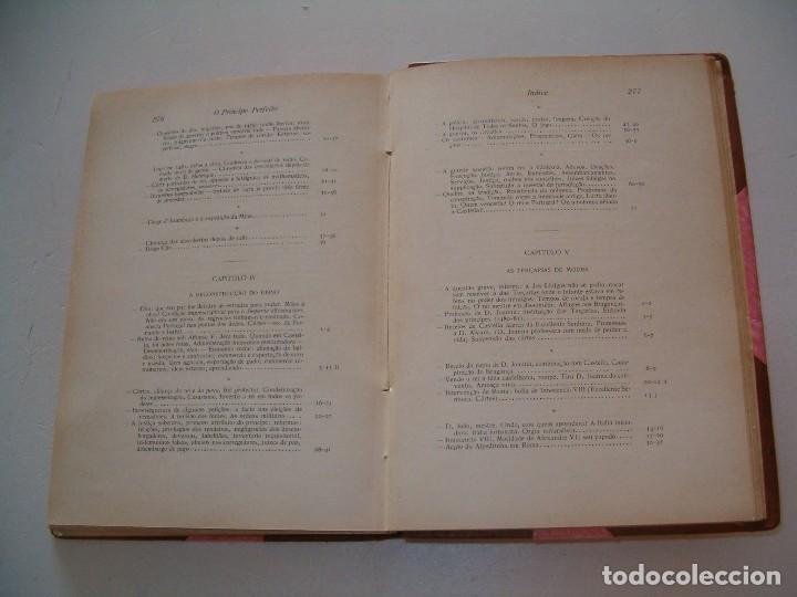 Libros antiguos: OLIVEIRA MARTINS. O principe perfeito. RM79287. - Foto 4 - 78410377