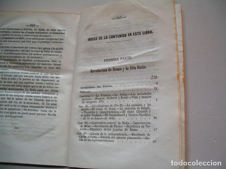 Libros antiguos: EL VIZCONDE DE ARLINCOURT, La Italia Roja. RM79296. - Foto 3 - 78412929