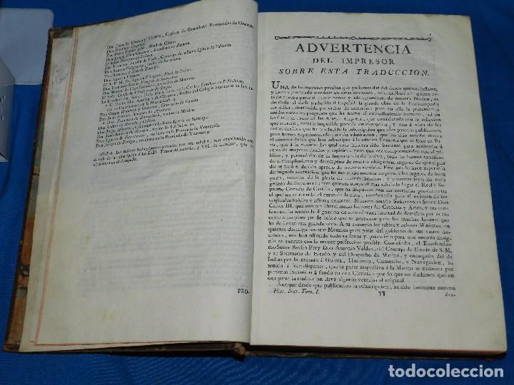 Libros antiguos: (MF) D GREGORIO MANUEL SANZ Y CHANAS - HISTORIA NATURAL DE LOS ANIMALES MDCCLXXXVIII (COMPLETO) - Foto 3 - 79003741
