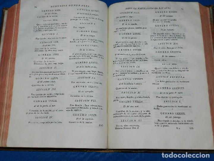 Libros antiguos: (MF) D GREGORIO MANUEL SANZ Y CHANAS - HISTORIA NATURAL DE LOS ANIMALES MDCCLXXXVIII (COMPLETO) - Foto 6 - 79003741