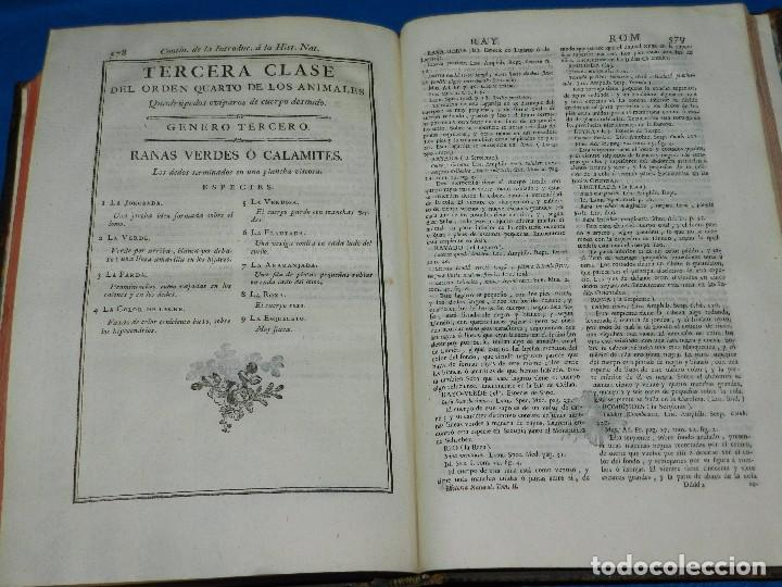 Libros antiguos: (MF) D GREGORIO MANUEL SANZ Y CHANAS - HISTORIA NATURAL DE LOS ANIMALES MDCCLXXXVIII (COMPLETO) - Foto 15 - 79003741
