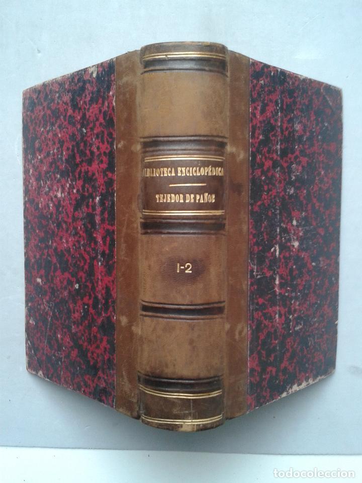 MANUAL DEL TEJEDOR DE PAÑOS. GABRIEL GIRONI. AÑO 1882. (Libros Antiguos, Raros y Curiosos - Ciencias, Manuales y Oficios - Otros)