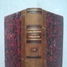 Manual del Tejedor de Paños. Gabriel Gironi. Año 1882.