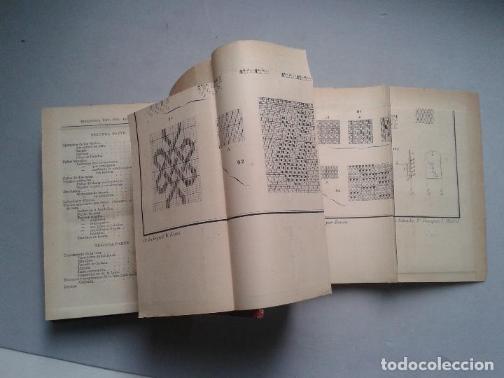 Libros antiguos: Manual del Tejedor de Paños. Gabriel Gironi. Año 1882. - Foto 5 - 79044057