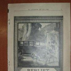 Libros antiguos: LA SCIENCIE ET LA VIE. MARZO 1925. MUCHA PUBLICIDAD DE LA EPOCA Y MUY ILUSTRADO. VER FOTOS.. Lote 79048761