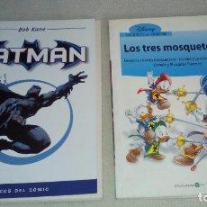 Libros antiguos: LIBRO COMIC BATMAN Y LIBRO LOS TRES MOSQUETEROS . Lote 79066021