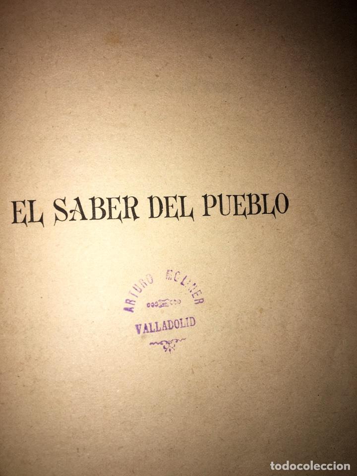 Libros antiguos: Orbaneja y Majada El Saber del Pueblo o Ramillete Año 1890 - Foto 3 - 79167185