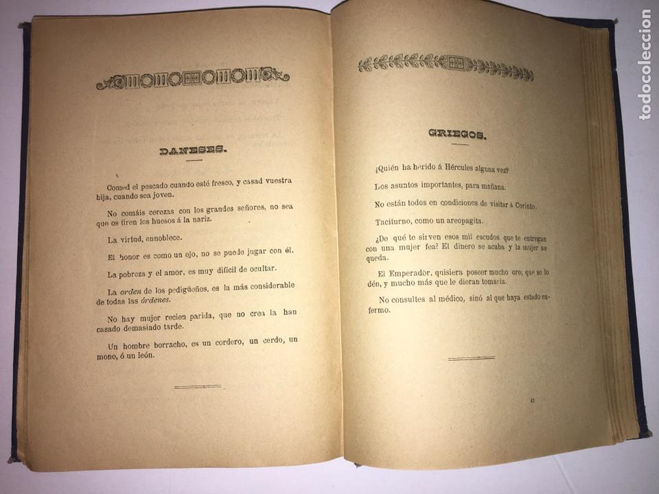 Libros antiguos: Orbaneja y Majada El Saber del Pueblo o Ramillete Año 1890 - Foto 6 - 79167185
