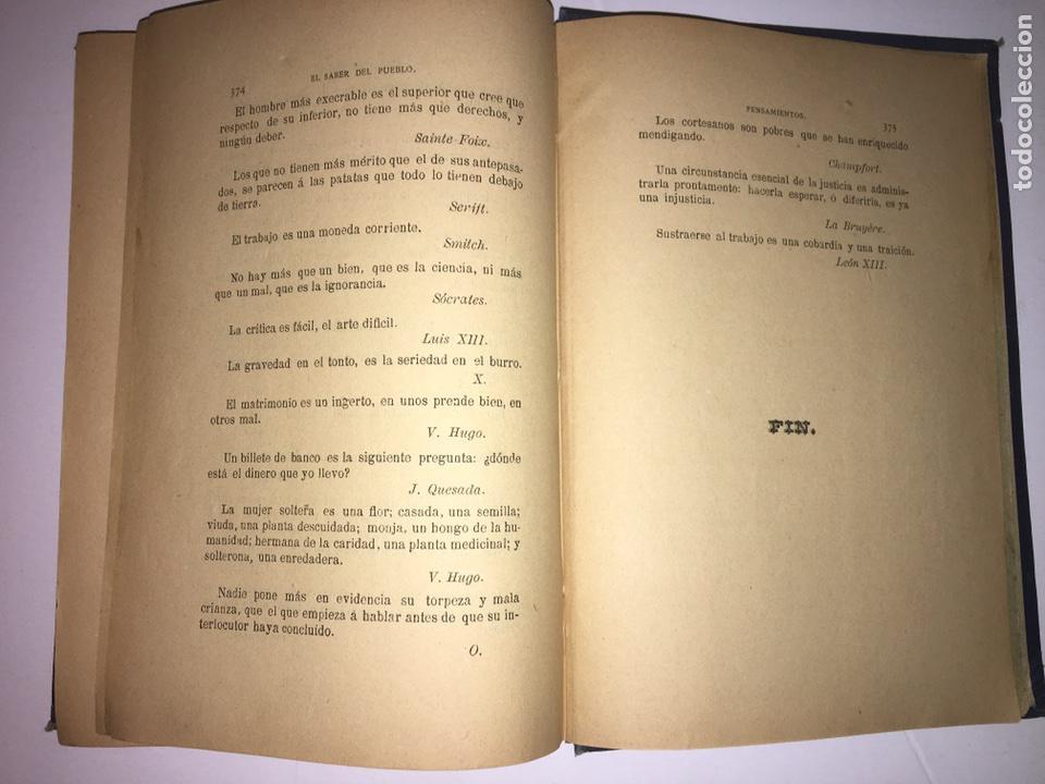 Libros antiguos: Orbaneja y Majada El Saber del Pueblo o Ramillete Año 1890 - Foto 9 - 79167185