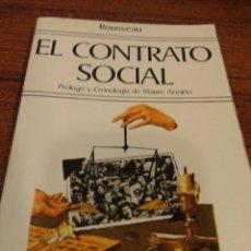 Libros antiguos: EL CONTRATO SOCIAL. Lote 79308869