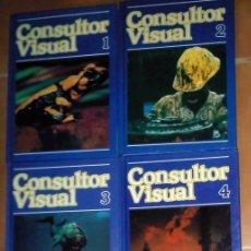 Libros antiguos: COLECCIÓN ENCICLOPÉDICA EL CONSULTOR VISUAL. Lote 79550473