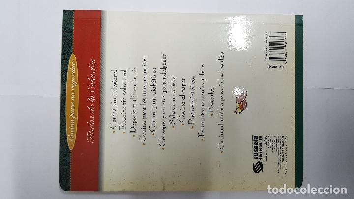 Libros antiguos: ANTIGUO LIBRO DE COCINA PARA NO ENGORDAR - RECETAS SIN COLESTEROL - - Foto 2 - 79551189