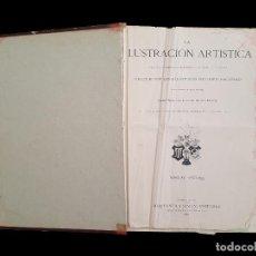 Libros antiguos: LA ILUSTRACIÓN ARTÍSTICA, 1,882- 1883-1887-1892-1893. Lote 79601045