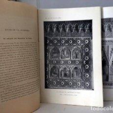 Libros antiguos: BOLETÍN ACADEMIA DE LA HISTORIA LXXIX (1921) ALJUBARROTA; GENEALOGÍA Y NOBLEZA; TARTESOS; ALMADRONES. Lote 79880653