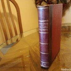 Libros antiguos: LIBRO ANTIGUO LA CASA DE TROYA DE ALEJANDRO PEREZ LUGIN. Lote 79992059