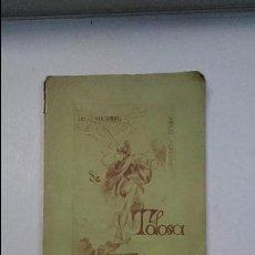 Libros antiguos: LOS TRES ESTUDIANTS DE TOLOSA. CANÇO POPULAR, 1886. Lote 80078353