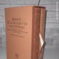 Libros antiguos: FACSIMIL TRATADO DE BELLEZA Y CONFITURAS DE NOSTRADAMUS EDITORIAL BOREAL. Lote 80080649