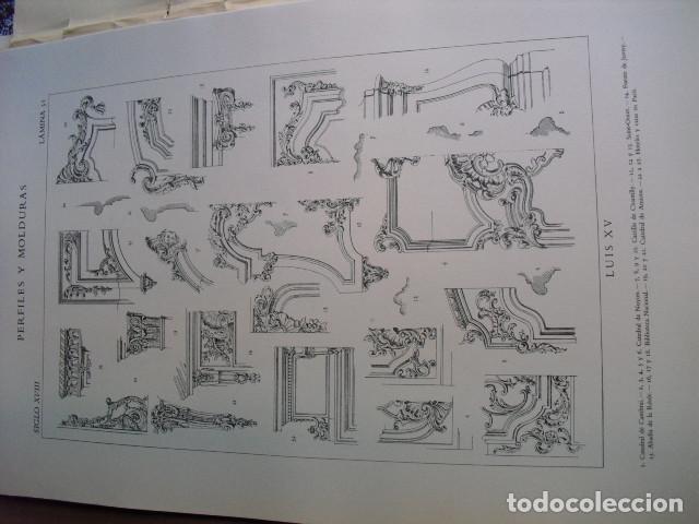 Libros antiguos: PERFILES Y MOLDURAS E. BAJOT 52 LÁMINAS DE 42X31 CMS - Foto 5 - 80216729