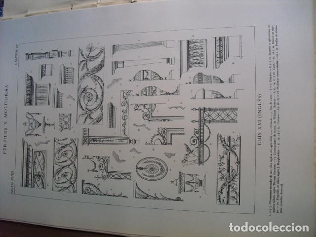 Libros antiguos: PERFILES Y MOLDURAS E. BAJOT 52 LÁMINAS DE 42X31 CMS - Foto 6 - 80216729