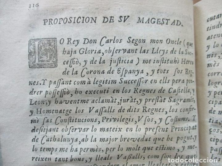 Libros antiguos: FESTIVAS DEMONSTRACIONES, Y MAGESTUOSOS OBSEQUIOS,.. 1702. - Foto 5 - 80224645