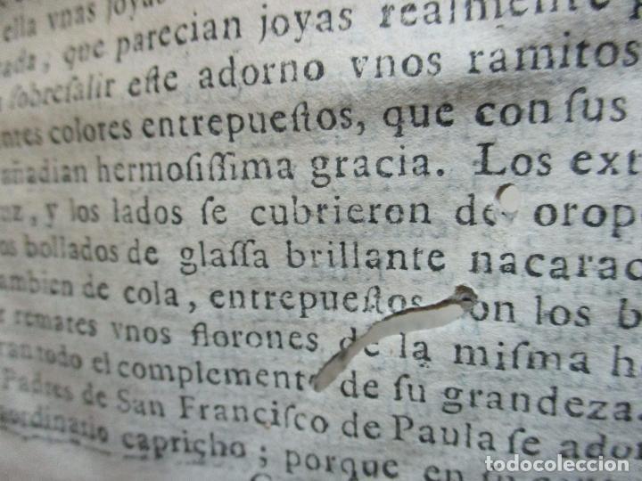 Libros antiguos: FESTIVAS DEMONSTRACIONES, Y MAGESTUOSOS OBSEQUIOS,.. 1702. - Foto 8 - 80224645