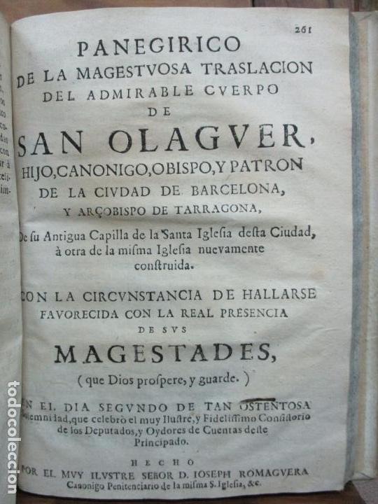 Libros antiguos: FESTIVAS DEMONSTRACIONES, Y MAGESTUOSOS OBSEQUIOS,.. 1702. - Foto 10 - 80224645