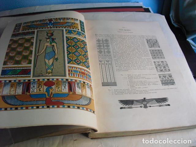 1880 ANTHOLOGIE DE L´ORNEMENT DICTIONNAIRE DES STYLES 100 LÁMINAS DE 35X25 CMS CROMOLITOGRAFIADAS (Libros Antiguos, Raros y Curiosos - Bellas artes, ocio y coleccionismo - Otros)