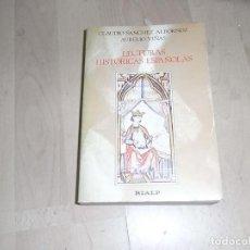 Libros antiguos: CLAUDIO SANCHEZ ALBORNOZ, AURELIO VIÑAS, LECTURAS HISTORICAS ESPAÑOLAS, RIALP. Lote 80348437