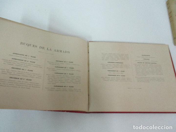 Libros antiguos: La Armada Española - Fotocromograbadas - Acuarelas de Hernandez Monjo - Editado en el Año 1898 - Foto 15 - 80544490