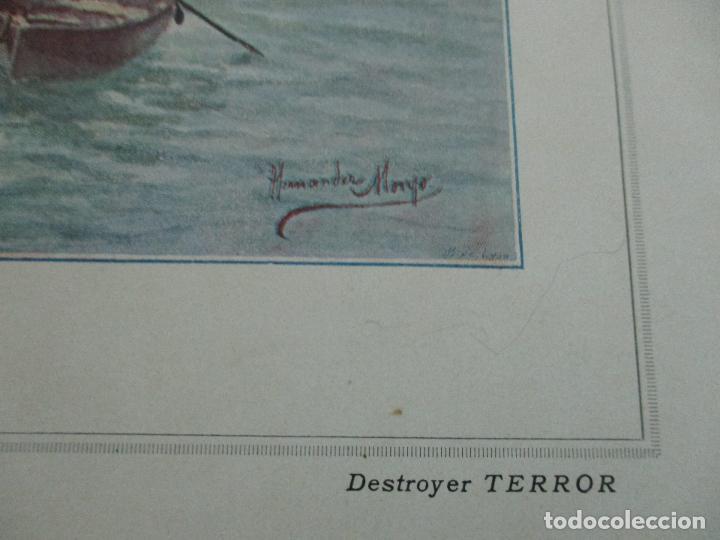 Libros antiguos: La Armada Española - Fotocromograbadas - Acuarelas de Hernandez Monjo - Editado en el Año 1898 - Foto 18 - 80544490