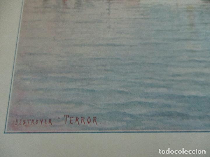 Libros antiguos: La Armada Española - Fotocromograbadas - Acuarelas de Hernandez Monjo - Editado en el Año 1898 - Foto 19 - 80544490