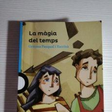 Libros antiguos: LIBRO LA MAGIA DEL TEMPS - GEMMA PASQUAL - JOLLIBRE - VALENCIANO. Lote 80571798