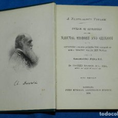 Libros antiguos: (MF) CHARLES DARWIN - NATURALIST'S VOYAGE ROUND THE WORLD , LONDON JOHN MURRAY 1889. Lote 80638222
