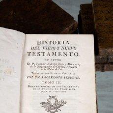 Libros antiguos: HISTORIA DEL VIEJO Y NUEVO TESTAMENTO–CARLOS ANTONIO ERRA- 6 TOMOS (III AL VIII). J. IBARRA-1774-75. Lote 80727206