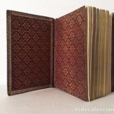 Libros antiguos: MISSEL DES SAINTS ANGES (1897) (MISAL S XIX. PLENA PIEL NERVIOS. CORTES DORADOS. GUARDAS CON BORDES . Lote 80734922