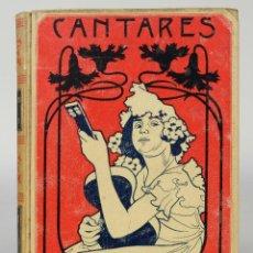 Libros antiguos: CANTARES POPULARES Y LITERARIOS-D. MELCHOR DE PALÁU-ED.MONTANER Y SIMÓN, BARCELONA 1900. Lote 80752710