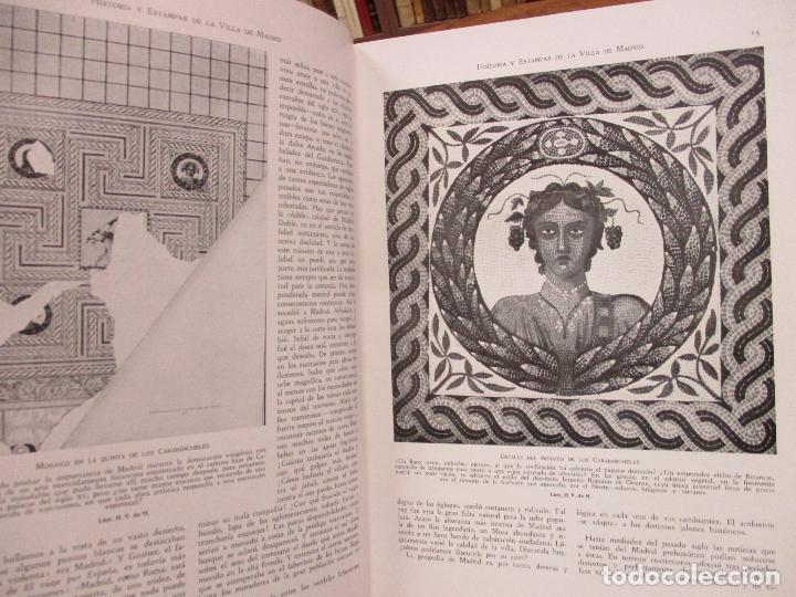 Libros antiguos: HISTORIA Y ESTAMPAS DE LA VILLA DE MADRID. SAINZ DE ROBLES, Federico Carlos. 2 VOL. 1933. - Foto 4 - 80849483