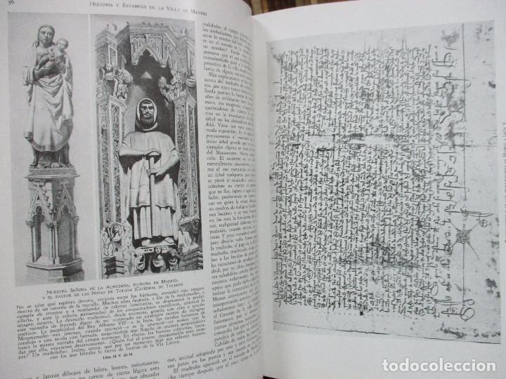 Libros antiguos: HISTORIA Y ESTAMPAS DE LA VILLA DE MADRID. SAINZ DE ROBLES, Federico Carlos. 2 VOL. 1933. - Foto 5 - 80849483