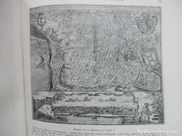 Libros antiguos: HISTORIA Y ESTAMPAS DE LA VILLA DE MADRID. SAINZ DE ROBLES, Federico Carlos. 2 VOL. 1933. - Foto 8 - 80849483