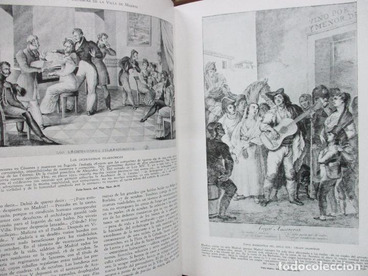 Libros antiguos: HISTORIA Y ESTAMPAS DE LA VILLA DE MADRID. SAINZ DE ROBLES, Federico Carlos. 2 VOL. 1933. - Foto 10 - 80849483
