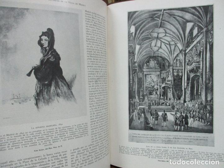 Libros antiguos: HISTORIA Y ESTAMPAS DE LA VILLA DE MADRID. SAINZ DE ROBLES, Federico Carlos. 2 VOL. 1933. - Foto 11 - 80849483