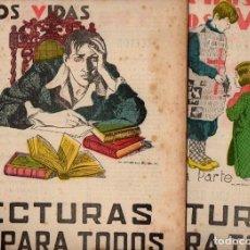 Libri antichi: PETER LHANDE : UNA ILUSIÓN Y DOS VIDAS- 2 VOLS.(LECTURAS PARA TODOS, 1935). Lote 81014300