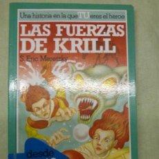 Libros antiguos: LIBRO JUEGO - EL REINO DE ZORK - Nº 1 - LAS FUERZAS DE KRILL - S. ERIC MERETZKY - ALTEA JUNIOR. Lote 81047468