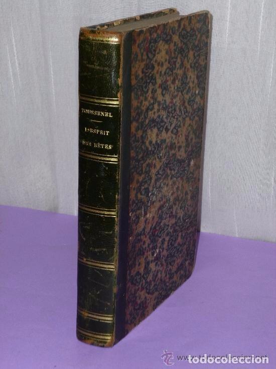 L'ESPRIT DES BÊTES. ZOOLOGIE PASSIONNELLE. MAMMIFÈRES DE FRANCE.(1855) (Libros Antiguos, Raros y Curiosos - Otros Idiomas)