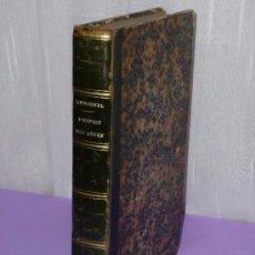Libros antiguos: L'ESPRIT DES BÊTES. ZOOLOGIE PASSIONNELLE. MAMMIFÈRES DE FRANCE.(1855). Lote 81092996