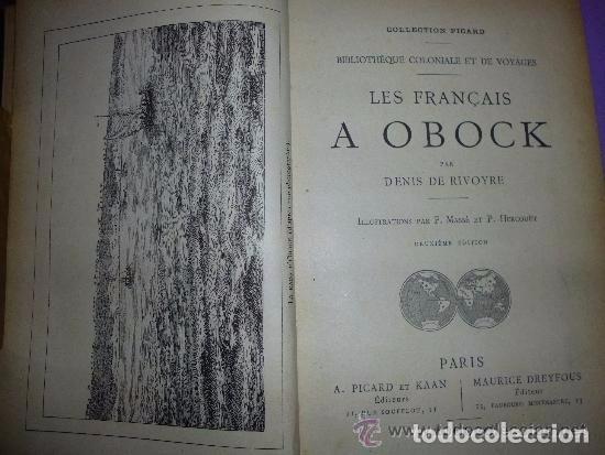 Libros antiguos: les français a obock. bibliothèque coloniale et de voyages. - Foto 2 - 81094000