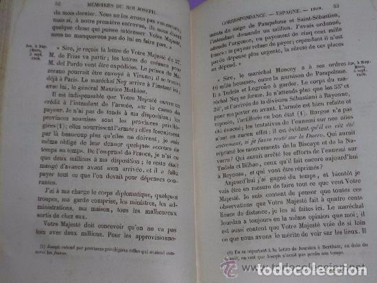 Libros antiguos: MEMOIRES ET CORRESPONDANCE POLITIQUE ET MILITAIRE DU ROI JOSEPH. Tomo V. (1854) - Foto 3 - 81094968
