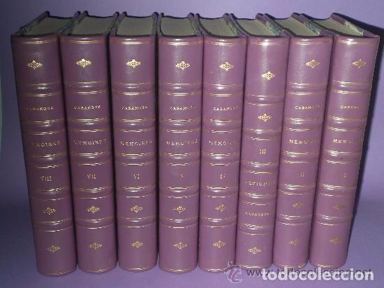 Libros antiguos: Mémoires de J.Casanova de Seingalt écrits par lui-même ... (8 tomos,1926-1927) - Foto 2 - 81096712