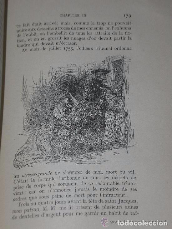 Libros antiguos: Mémoires de J.Casanova de Seingalt écrits par lui-même ... (8 tomos,1926-1927) - Foto 9 - 81096712